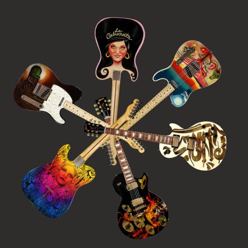 Blazing Chicano Guitars