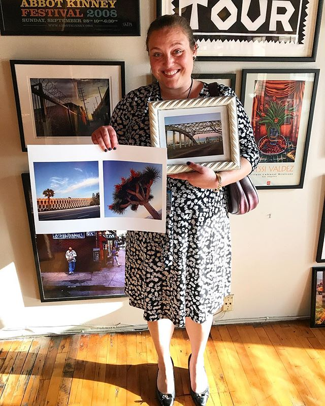 proudly sold my photos to my new friend Sonia Pflaster