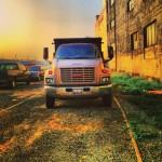 The Golden Truck in LA Art District