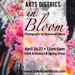 Arts District in Bloom Photography Exhibit by Downtown Muse Melissa Richardson Banks